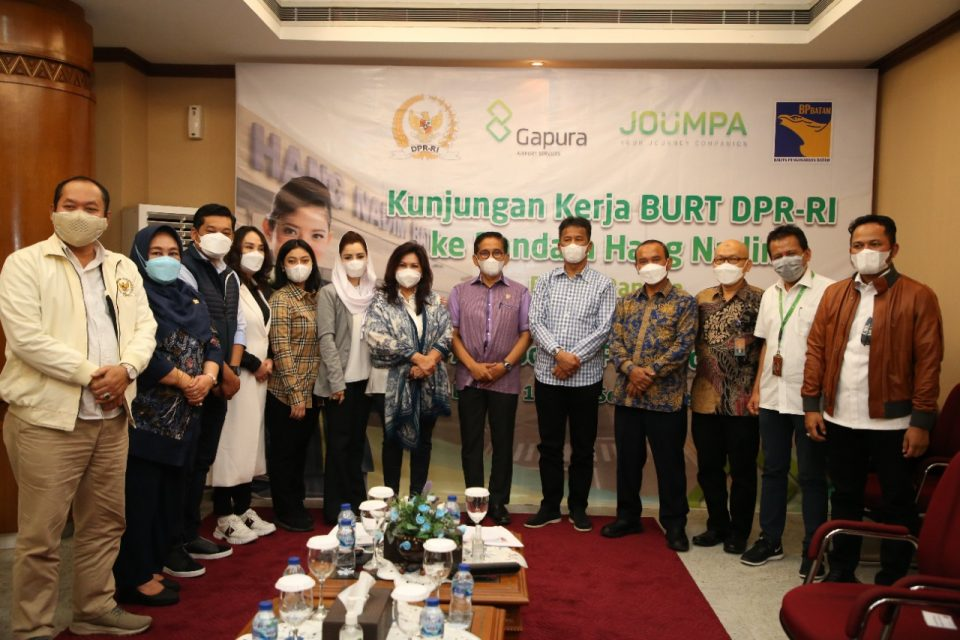 Kepala BP Batam Terima Kunjungan BURT DPR RI (foto : hms)